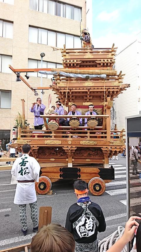 石岡山車09若松町お囃子190914