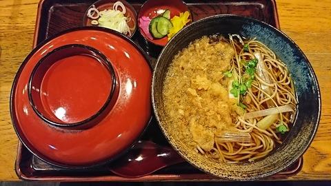 奈可川:①牛丼セット1000円180323