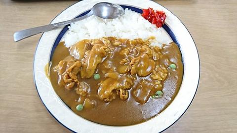 丸福食堂:①カレーライス600円190210