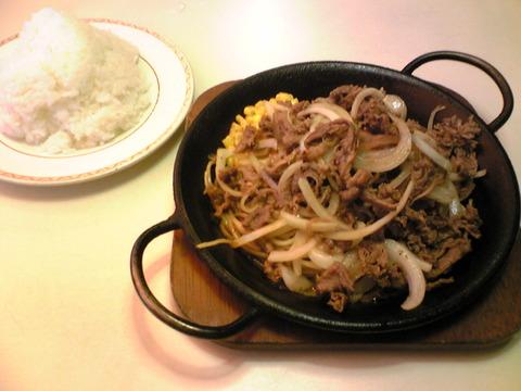 キッチンカロリー:①カロリー焼ダブル850飯大盛全100912