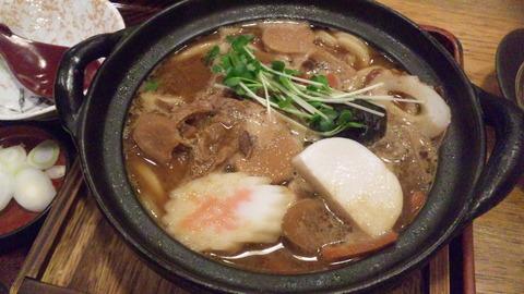 奈可川:①味噌煮込うどん930円170104