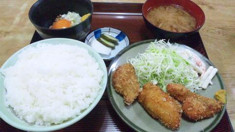 常盤仙食堂:①B定食630円全景150826