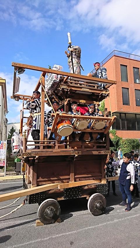 石岡山車36幸町お囃子190914