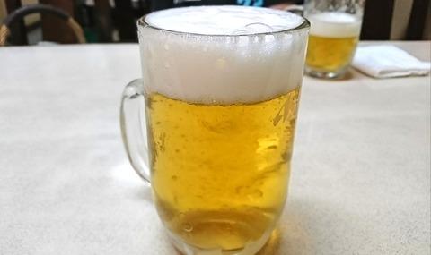 昇龍:②生ビール500円190905