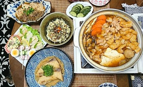 家ご飯11:①肴6品201223