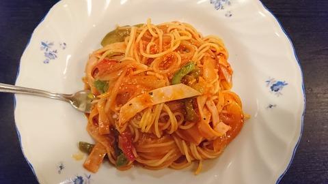 みやはら:①スパゲティナポリタン550円170608