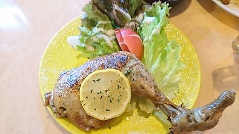 たけ:①錦爽鶏のコンフィ1280円181125