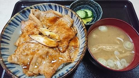 昇龍:①豚焼肉丼680円190905
