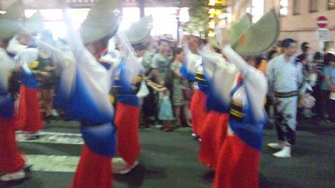 神楽坂阿波踊り34あずさ連160729