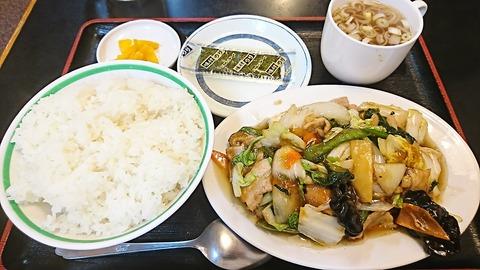 ピリカ2:①五目ウマ煮定食810円190320
