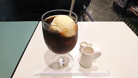 ハトヤ:①コーヒーフロート600円170205