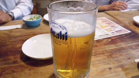 府中壱丁目1番:①メガ生ビール500円120516