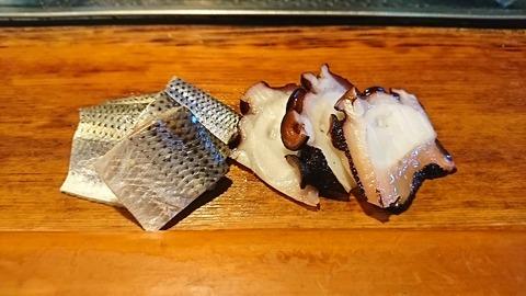 常寿司:③刺身小肌蛸190105