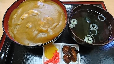 近江家:⑧カレー丼750円190928