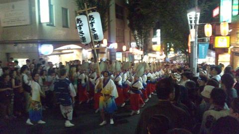 神楽坂阿波踊り30あずさ連160729