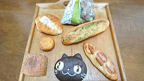 シェリュイ:①パン6個菓子1袋190929