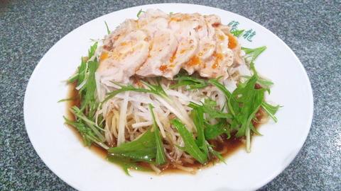 藤龍:①鶏冷し中華950円160621