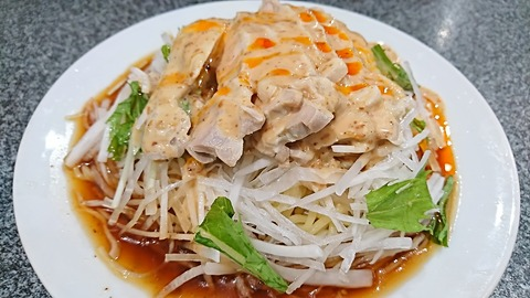 藤龍:①鶏冷し中華950円180815