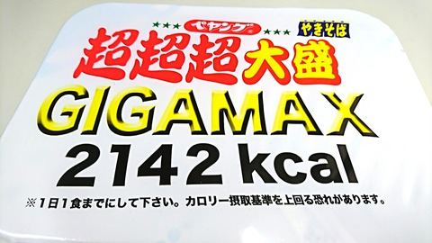 超超超大盛GIGAMAX:②箱姿180714
