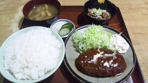 常盤仙食堂:①日替わり飯大納豆150526