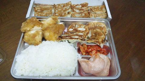 王将:①亀有定食餃子二人前全130603