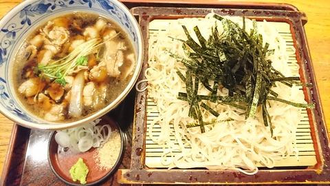 奈可川:①豚しゃぶつけ汁そば170721