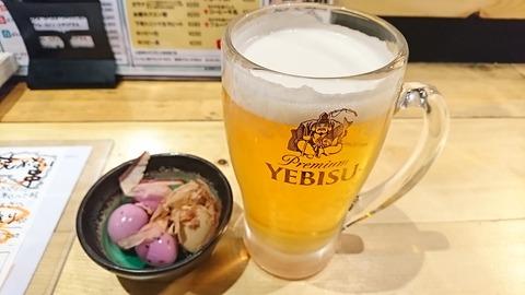 かつを:②ヱビス生ビール580円171208