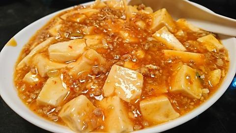 鳳来:⑥マーボー豆腐550円181018