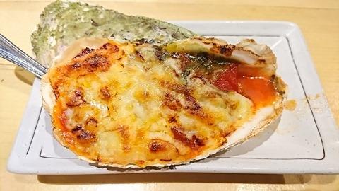 かつを:⑭焼き牡蠣450円トマトバジルソース171208