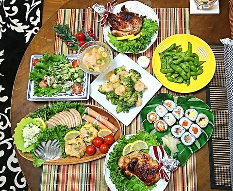 家ご飯2:①肴7品201225