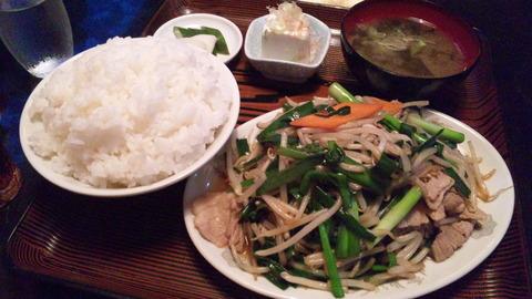 鳳来:①K定食770飯大100全140818