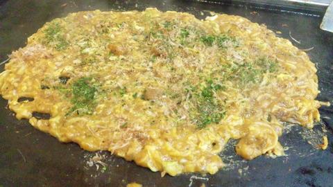 ざいご:①カレーチーズそば650完成160312