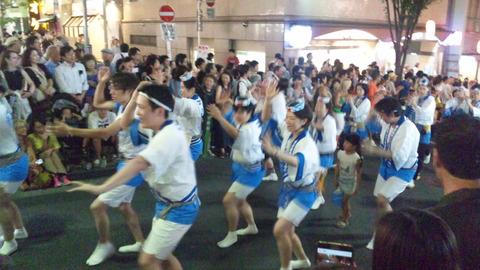 神楽坂阿波踊り14JCHO東京メディカルC連160729