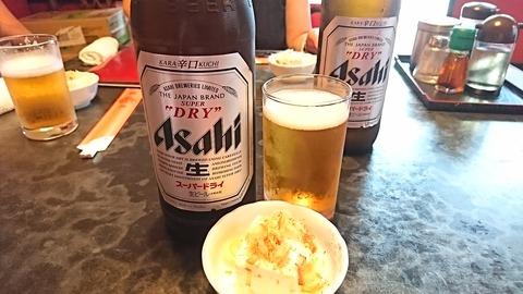 鳳来:②大瓶ビール600円190902