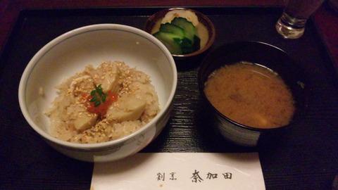 割烹奈加多:⑩6000円コース食事110419