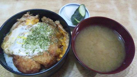常盤仙食堂:①カツ丼700円160620