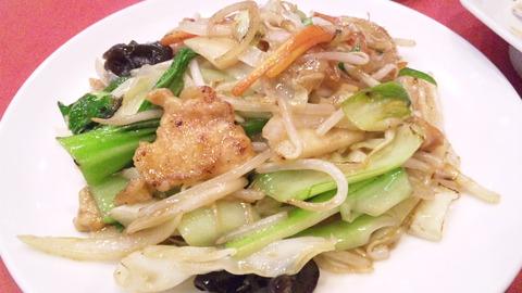 一番:⑥野菜炒め中盆131110