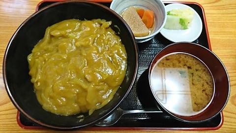 白樺:①カレー丼710円180220