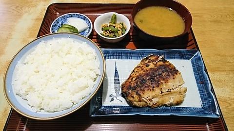 常盤仙食堂:①日替り定食580円170206