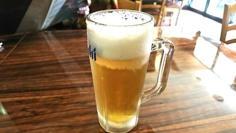一粋家:②生ビール480円191104