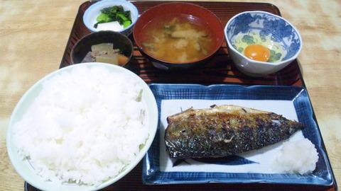 常盤仙食堂:①日替り定食580生卵70円151209