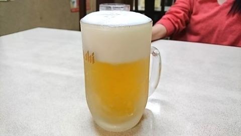 昇龍:②中生ビール500円191212
