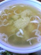 中華料理三河屋:?豆腐若布味噌汁拡大100614