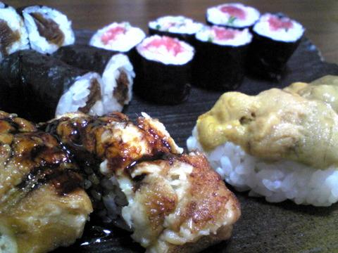寿司いさりび:⑧上握り1890円二人前半分拡大101023