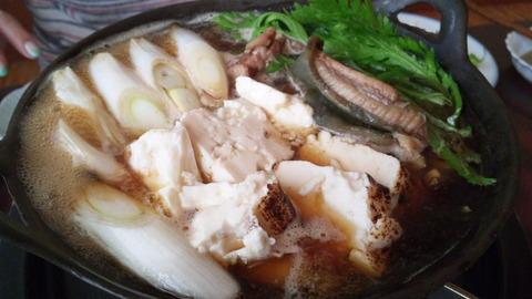 飯田屋:⑫鯰が煮えたらザク入れ131116