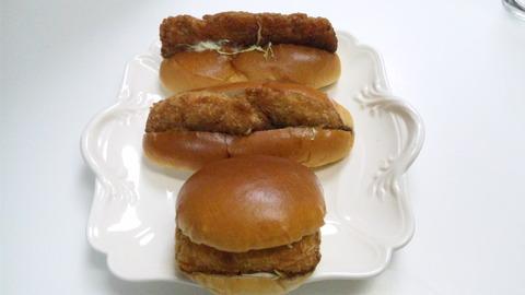 焼きたてパンキムラヤ:①パン三種全景110417