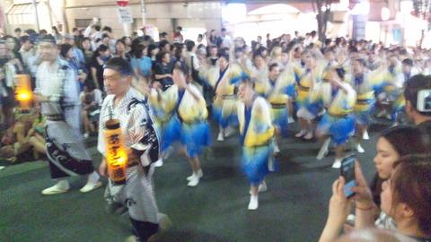 神楽坂阿波踊り35あずさ連160729