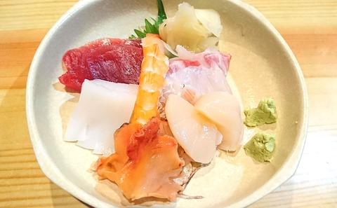亀寿司:⑤刺身盛合せ191103