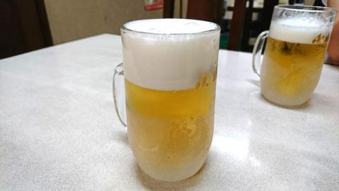 昇龍:②生ビール500円191003