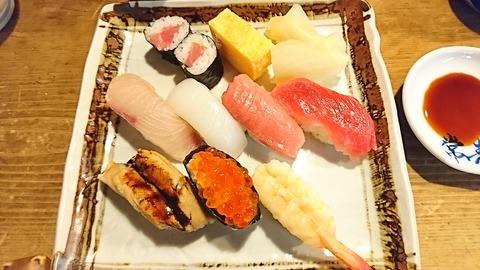 常寿司:①特上2300円181223